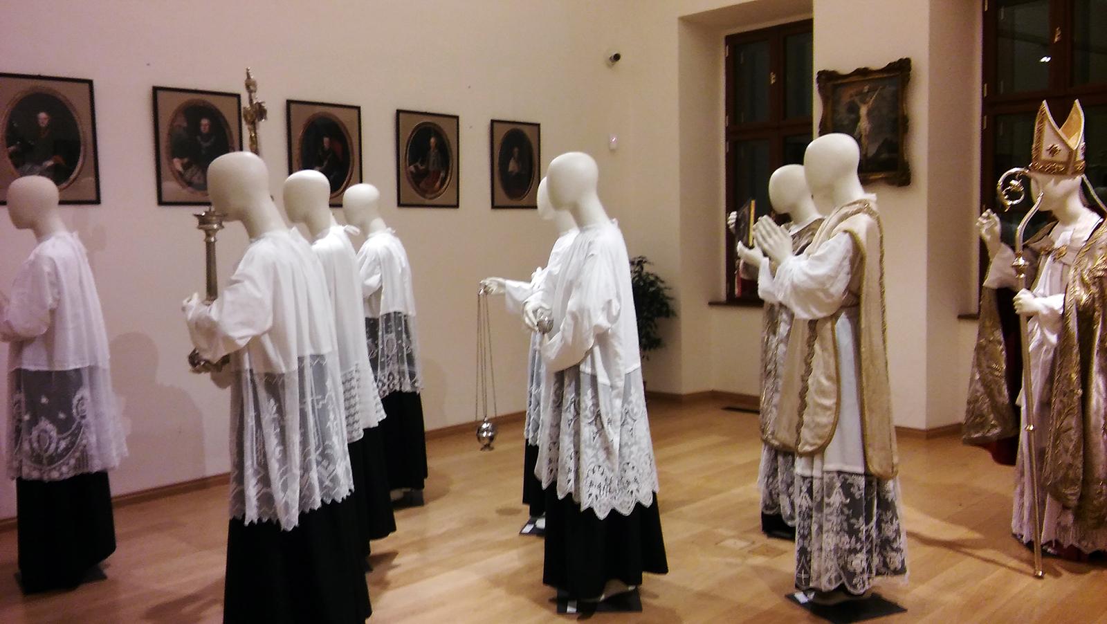 Egri Érseki Palota installációja 2018