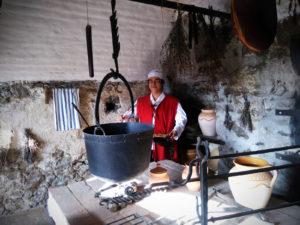 Szigligeti Vár szakácsa és kovácsa